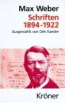 Max Weber - Schriften